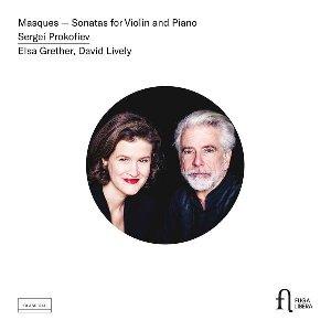 Masques. Sonatas for violin and piano / Serge Prokofiev | Prokofiev, Serge. Compositeur