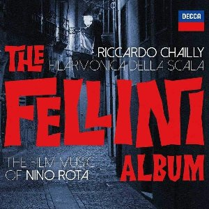 The Fellini album : The film music of Nino Rota / Nino Rota | Rota, Nino. Compositeur