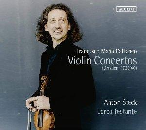 Violin concertos = Concertos pour violon / Francesco Maria Cattaneo | Cattaneo, Francesco Maria