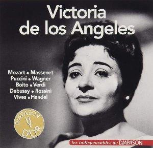 Victoria de Los Angeles chante Mozart, Puccini, Wagner, Verdi, Rossini... / Wolfgang Amadeus Mozart, Jules Massenet, Giacomo Puccini, Richard Wagner... [et al.] | Mozart, Wolfgang Amadeus. Compositeur