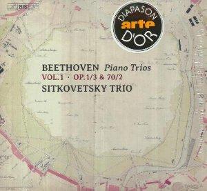 Piano trios vol.1 / Ludwig Van Beethoven | Beethoven, Ludwig van. Compositeur