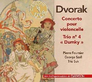 Concerto pour violoncelle. Trio n°4 'Dumky' / Antonin Dvorak | Dvorak, Antonin. Compositeur