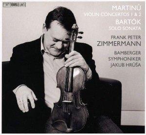 Violin concertos 1 & 2- solo sonata / Bohuslav Martinu, Bela Bartok   Martinu, Bohuslav. Compositeur