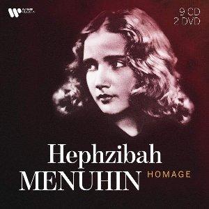 Homage / Hephzibah Menuhin, p   Menuhin, Hephzibah. Piano