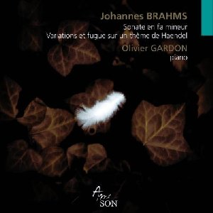 Sonate en fa mineur. Variations et fugue sur un thème de Haendel / Johannes Brahms | Brahms, Johannes. Compositeur