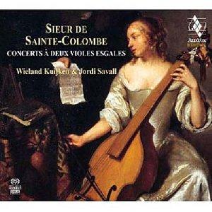 Concerts à deux violes esgales / Monsieur de Sainte-Colombe | Sainte Colombe, Sieur de. Compositeur
