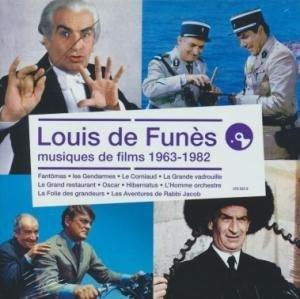 Louis de Funès : musiques de films 1963-1982 / Jean-Michel Defaye, Raymond Lefèvre, Paul Mauriat... [et al.] | Defaye, Jean-Michel