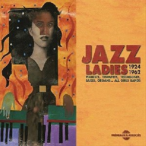 Jazz ladies  : pianists, trumpets, trombones, saxes, organs... all girls band