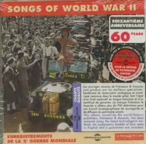 Songs of world war II : enregistrements de la seconde guerre mondiale | Ventura, Ray (1908-1979). Musicien
