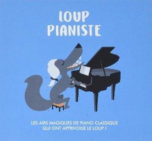 Loup pianiste : les airs magiques de piano classique qui ont apprivoisé le loup!