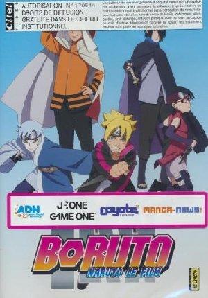 Boruto = Boruto : Naruto the movie : Naruto, le film | Yamashita, Hiroyuki. Monteur