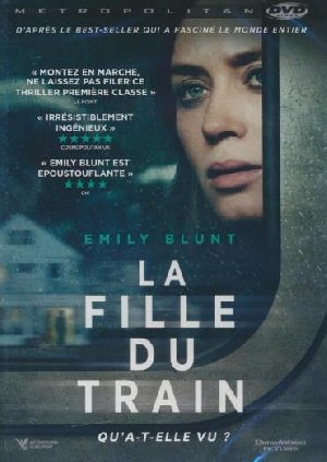 Fille du train (La) = Girl on the train (The) | Taylor, Tate. Monteur