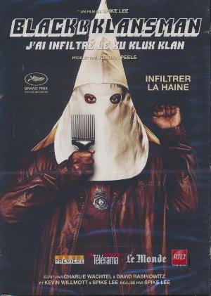 BlacKkKlansman = BlacKkKlansman : j'ai infiltré le Ku Klux Klan | Lee, Spike. Monteur