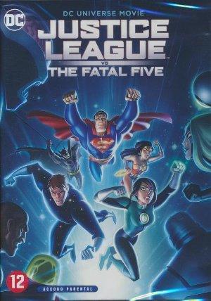Justice League Vs. the Fatal Five   Liu, Sam. Monteur