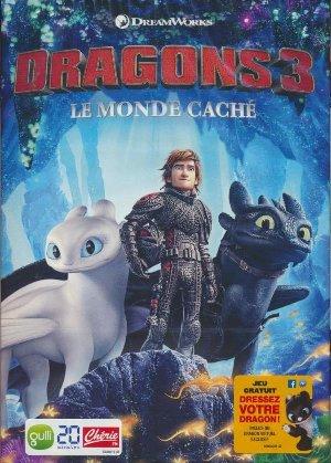 Dragons 3 = How to train your dragon : the hidden world : Monde caché (Le) | Deblois, Dean. Réalisateur. Scénariste
