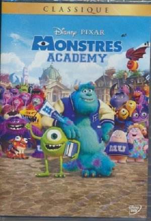 Monstres academy = Monsters university |