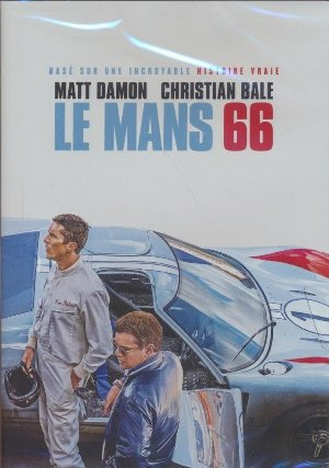 Mans 66 (Le) = Ford vs Ferrari / James Mangold, Réal. | Mangold, James. Monteur